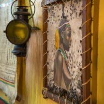 Tentures décoration restaurant Ethiopia