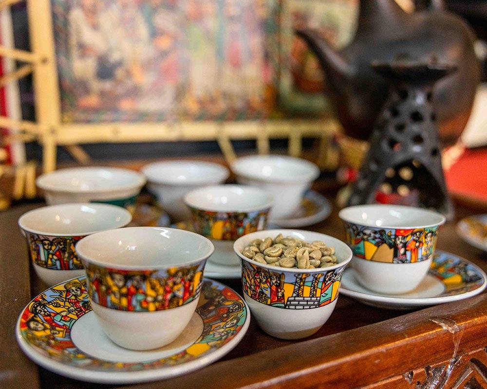 Tasses à café restaurant Ethiopia