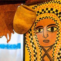 Fresques murales restaurant Ethiopia