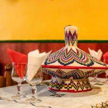 Plat traditionnel de service restaurant Ethiopia