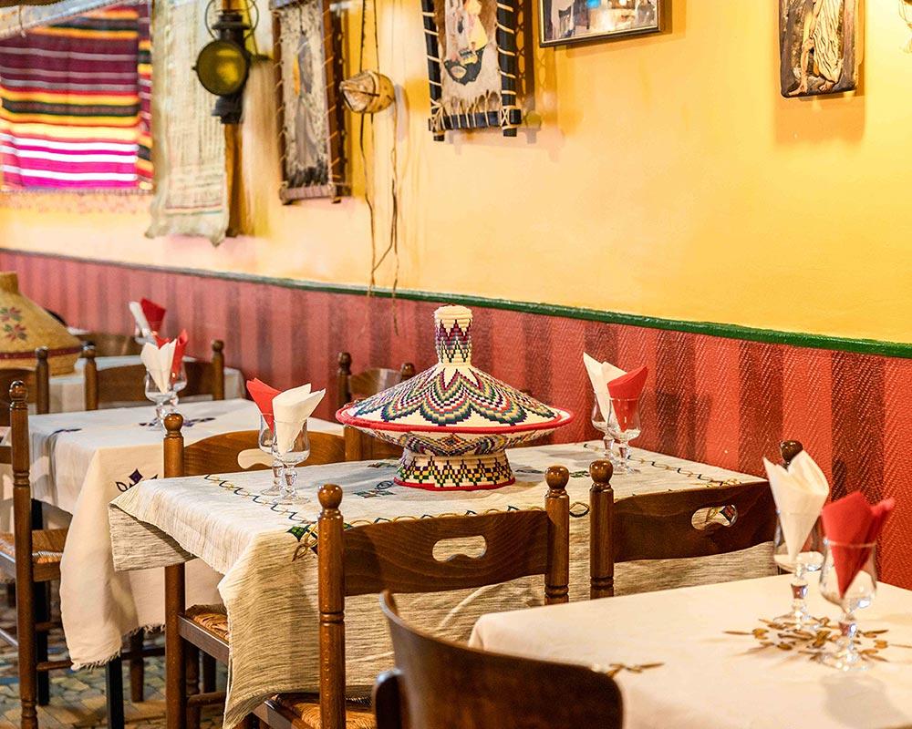 Tables restaurant Ethiopia