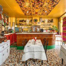Accueil coloré décoration chatoyante restaurant Ethiopia